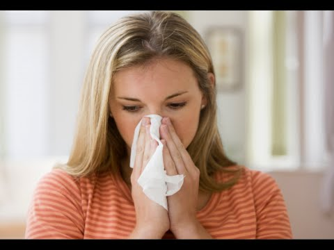 How to Stop Runny Nose Fast -  Nasal Allergy