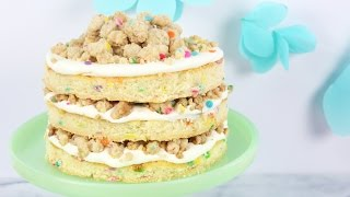 How to Make a Funfetti Birthday Cake!