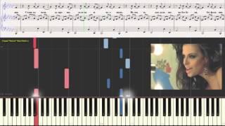 Не знаю - Надин и Бумбокс (Ноты и Видеоурок для фортепиано) (piano cover)