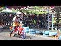 foto DRAG bike Kelas Motor Aneh Di Indonesia, 1 Joki Naik 2 Motor ??? Borwap