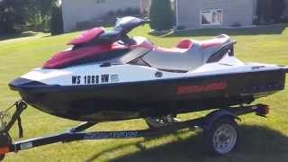 9. 2011 Sea Doo GTX 215  No Reserve Ebay auction
