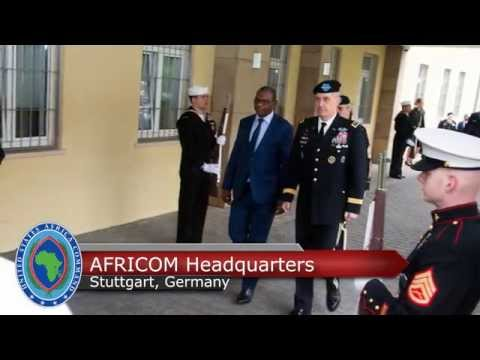 Karidjo Mahamadou, the Niger minister of defense, met with U.S. Africa Command officials this week.