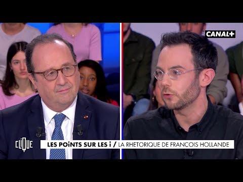 Clément Viktorovitch : La rhétorique de François Hollande - Clique - CANAL+