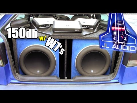 150db JL Audio Install w/ Brian's 13w7 Subwoofers & Two HD1200/1 Bass Amps | Loud SAAB Sound System
