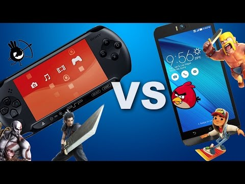 PSP и Смартфон в 2016 (PSP vs. Android)
