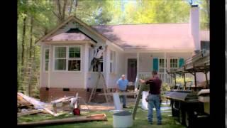 Sunroom construction Siding spring 2015