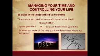 Lesson 6 Managing Your Time and Controlling Your Life