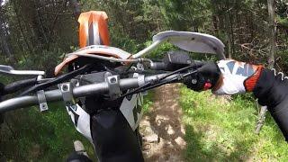 4. Heavyweight lifting on K1 Trail - KTM 690 R