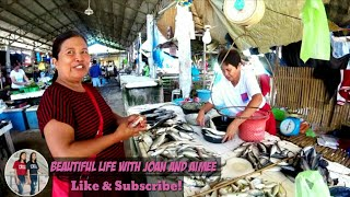 Sunday Mass& Wet Market/Palengke Day In San Miguel Bohol