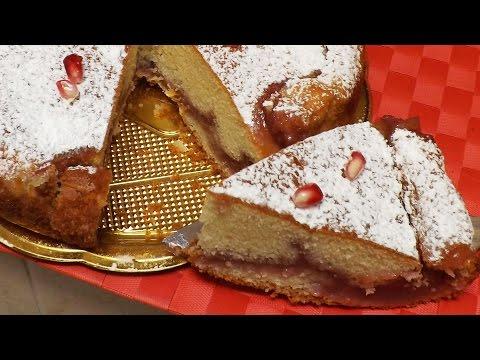 dolce con melograna - ricetta