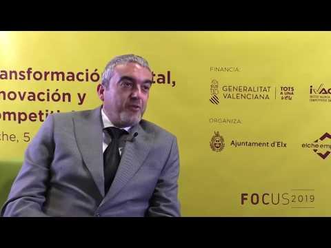 José Javier García, Presidente de CEEI Elche, en Focus Pyme CV 2019[;;;][;;;]