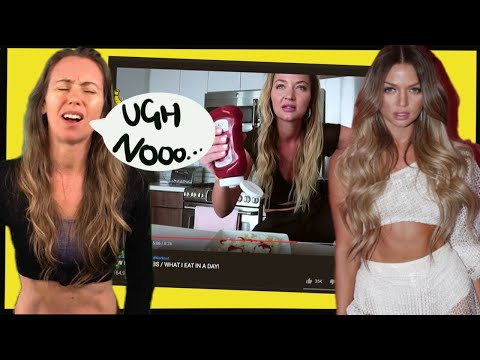 Erika Costell What I eat response from Freelee