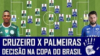 Cruzeiro e Palmeiras se enfrentam nesta quarta-feira, a partir das 21h45 em jogo decisivo pelas quartas de final da Copa do Brasil. Após empatar por 3 a 3 em São Paulo, o Maior de Minas joga pela vitória e se classifica se empatar até por 2 a 2. Confira as prováveis escalações e deixe sua opinião sobre a partida.AJUDA NÓIS! DEIXA SEU LIKE, COMPARTILHE O VÍDEO COM OS AMIGOS E SE INSCREVA NO CANAL! REDES SOCIAIS DO SEIS A UM:Facebook: https://www.facebook.com/canal6a1Instagram: https://www.instagram.com/seisaumTwitter: https://www.twitter.com/canal6a1