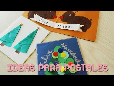 ideas para postales de navidad para nios