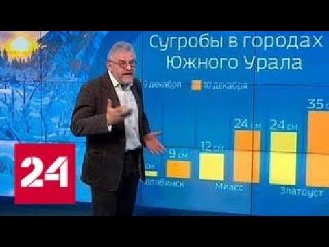 \Погода 24\: что принесет в Россию атлантический циклон - Россия 24 - DomaVideo.Ru