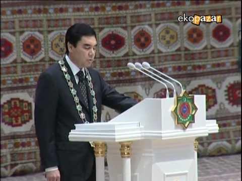 Ekopazar Türkmenistan Yemin Töreni