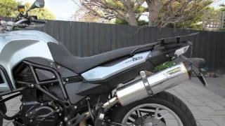7. BMW F650 (800cc) TWO BROTHERS EXHAUST