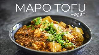 MaPo DoFu - vegan / vegetarian recipe version