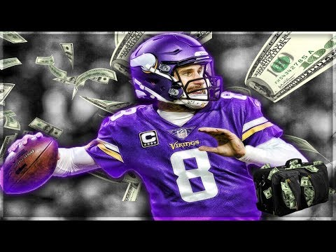 Kirk Cousins Signs With The Minnesota Vikings -- Eagles or Vikings Better in 2018? | My Reaction