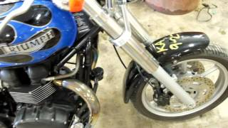 9. 2004 Triumph speedmaster 790 used motorcycle parts for sale