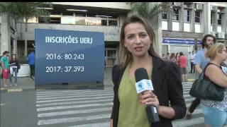 Vestibular da Uerj tem aumento no número de faltosos