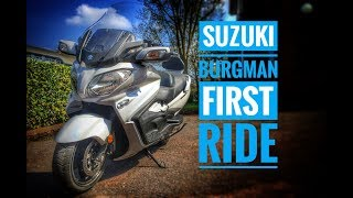 1. 2018 Suzuki Burgman 650 Review