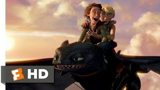 Video How to Train Your Dragon (2010) - Going For A Ride Scene (6/10) | Movieclips MP3, 3GP, MP4, WEBM, AVI, FLV Maret 2019