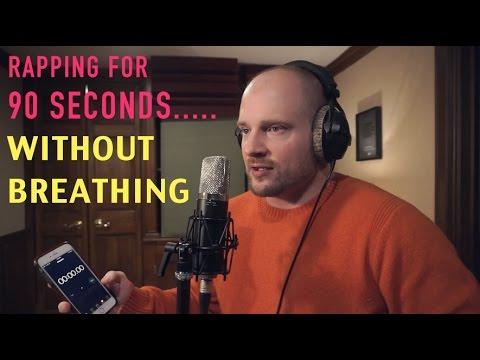 Tällä räppärillä on todella vahvat keuhkot! – Nopeutta myös