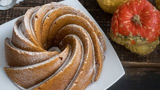 Pumpkin Cream Cheese Bundt Cake by Home Cooking Adventure