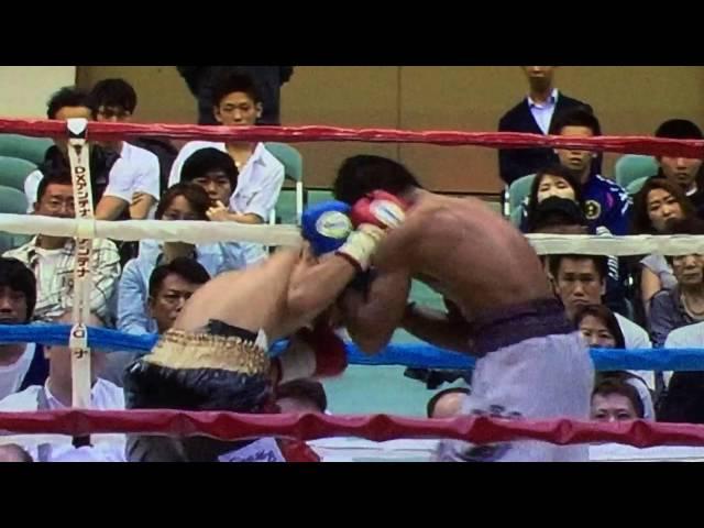 ボクシング 久保 隼(真正)VSベンジー・スガ ノブ