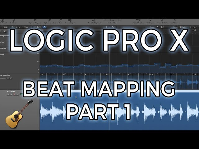 Logic Pro X Beat Mapping Part 1 Acoustic Guitar And Drummer Plug In : Mp3DownloadOnline.com