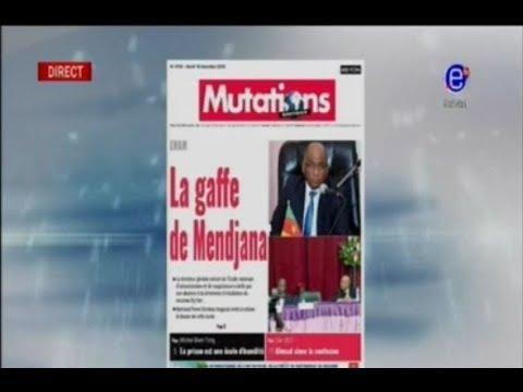 La Revue de Presse - ENAM: La Gaffe de Mandjana... Equinoxe Tv