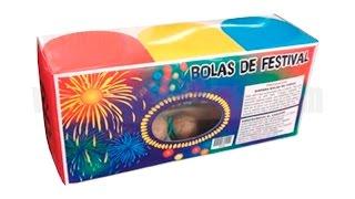 Bolas de festival
