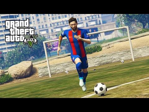 SOCCER/FOOTBALL MOD!! (GTA 5 Mods) (видео)