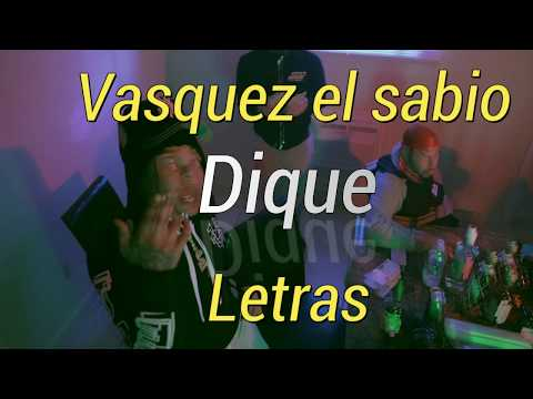 Vasquez el sabio- Dique (Sleepy Hallow Breaking bad Spanish versión )(LETRAS)