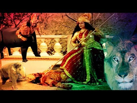 Maa Sherawali Killed Demon Mahisasur || English Subtitle BR Chopra Hindi TV Serial ||