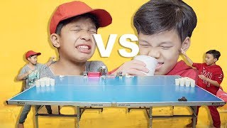 Video Sampe Muntah!!! Fateh Halilintar VS Muntaz Halilintar Jamu Pong | Gen Halilintar MP3, 3GP, MP4, WEBM, AVI, FLV April 2019