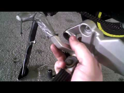 How-to replace a shifter on a motorcycle