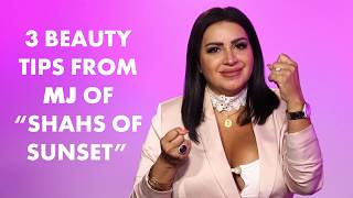 "Mercedes ""MJ"" Javid stopped by to talk about beauty tips, and things got real. She talked about how to look good while in the doggy position and how to prevent gas, making this one of the most unusual beauty segments ever caught on camera."