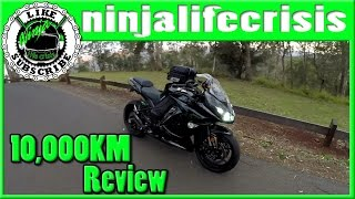 2. 2016 Ninja 1000 ABS   10K review update   Living with a Ninja