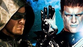 Stephen Amell (Arrow) vs Stardust WWE RAW 8/10/15