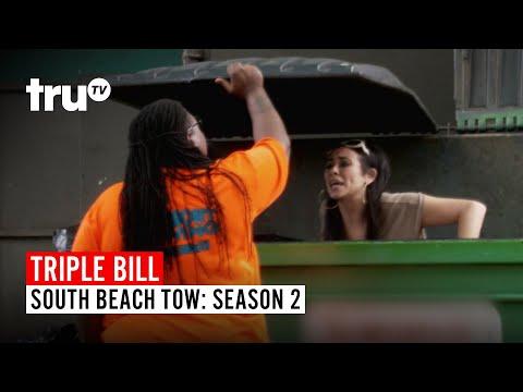 South Beach Tow | TRIPLE BILL: Season 2, Episodes 2, 3 & 4 | truTV | Watch FULL EPISODES | truTV