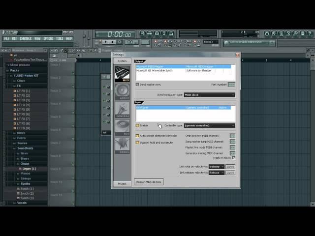 fl studio how to add plucks