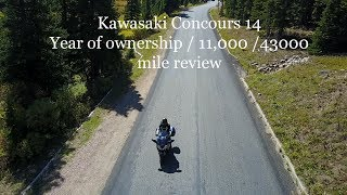 7. Kawasaki Concours 14 1 year of ownership review