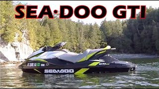 6. 2017 Sea Doo GTI 155 SE - In-Depth Review