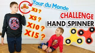 Video CHALLENGE HAND SPINNER FREESTYLE - Record de Tours du Monde  pour Néo ! MP3, 3GP, MP4, WEBM, AVI, FLV Juli 2017