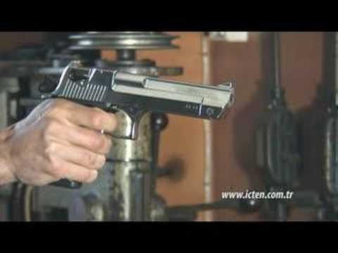 Silah- Kurusıkı Desert Eagle Nikel ( Blank Firing Gun)