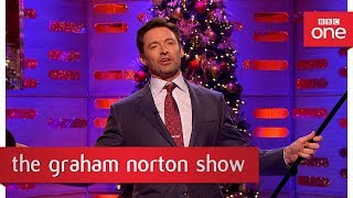Video Hugh Jackman shows why he's the greatest showman - The Graham Norton Show: 2017 - BBC One MP3, 3GP, MP4, WEBM, AVI, FLV Agustus 2018