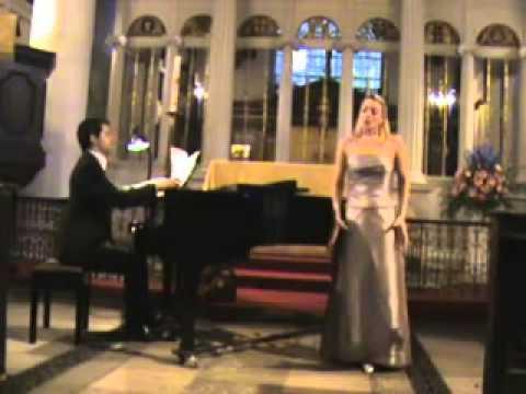 MARLOS NOBRE, Dengues da Mulata Desinteressada, Margareth Cooper (soprano) & Ivan Pires (piano)