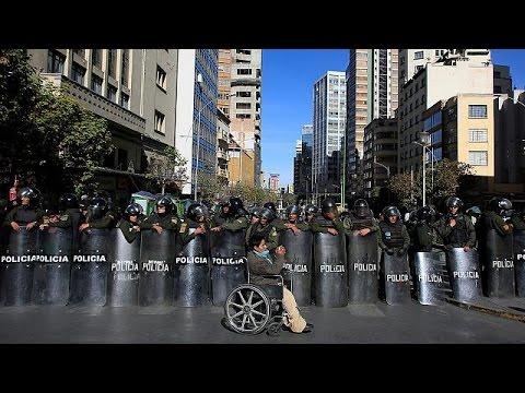 Βολιβία: Δακρυγόνα σε διαδήλωση ΑΜΕΑ